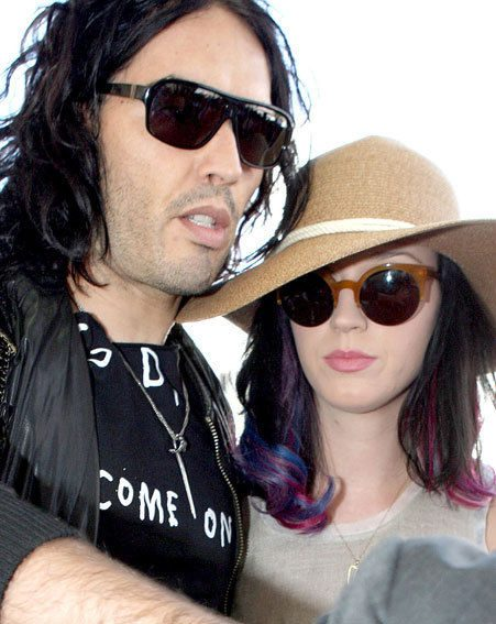 Russell Brand and Katy don't want their friends to buy them wedding gifts