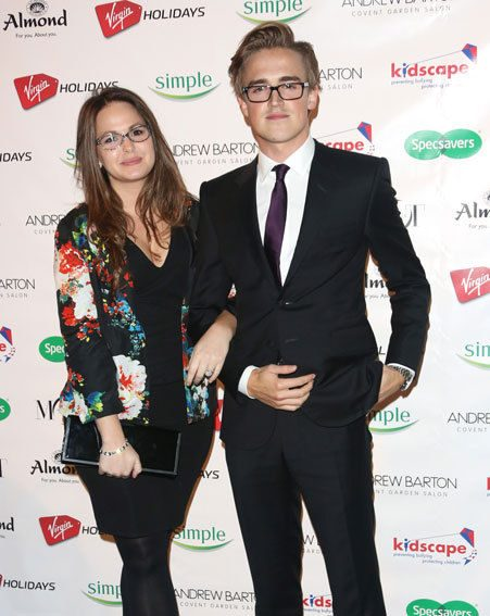 Tom Fletcher married Giovanna Falcone in May last year