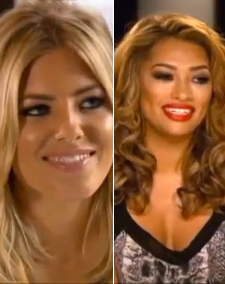 Mollie King and Vanessa White introduce themselves in the sneak peek footage