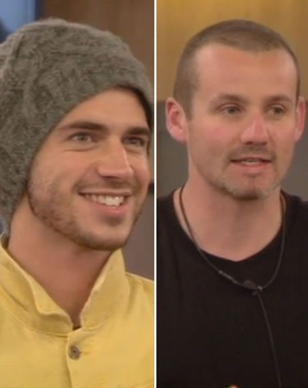 Sam Robertson and Ryan Moloney made their public plea ahead of tonight's CBB eviction