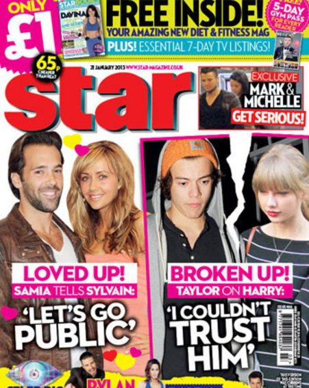 Harry Styles and Taylor Swift call time on their whirlwind romance - In Star this week