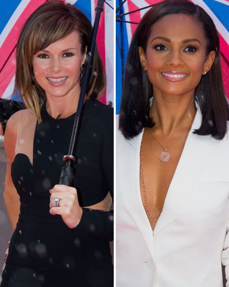 Amanda Holden and Alesha Dixon flaunted plenty of flesh at the Britain's Got Talent auditions