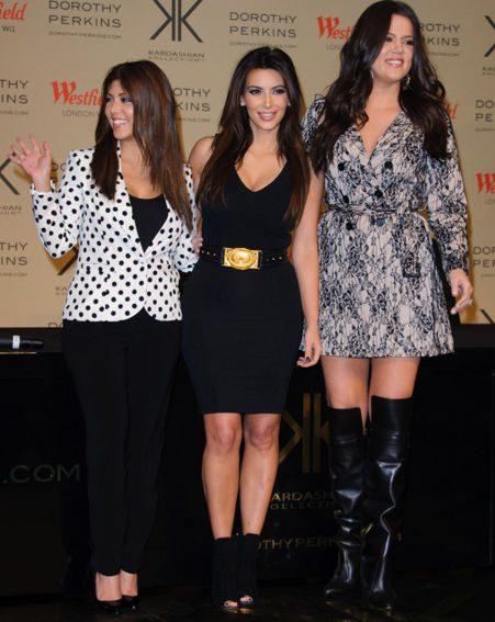 Khloe Kardashian denied she had any feelings of jealousy towards sisters Kim and Kourtney
