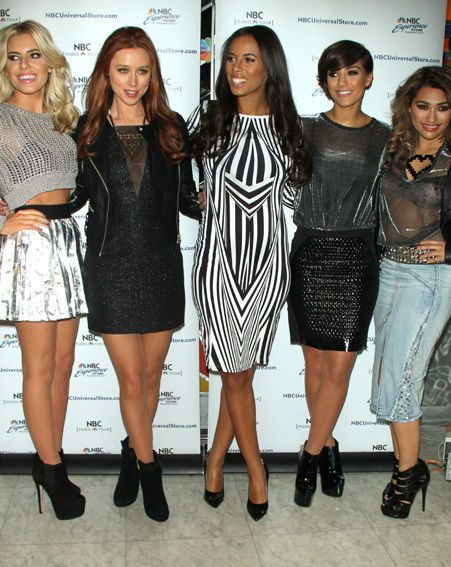 The Saturdays hit New Yrok as well as LA for their US stint