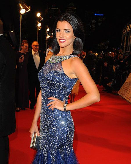 Lucy Mecklenburgh chopped off her long blonde locks in favour of a dark bob