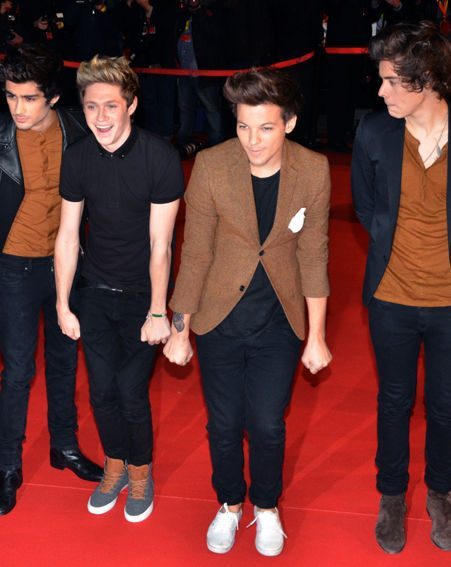 One Direction bagged the Best International Group award