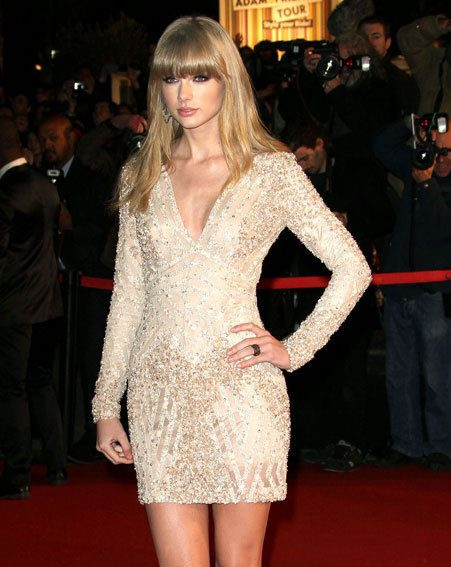 Taylor Swift and Harry Styles were both at the NRJ Awards in France at the weekend