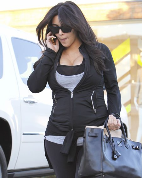 Kim Kardashian says she's heading back to the gym