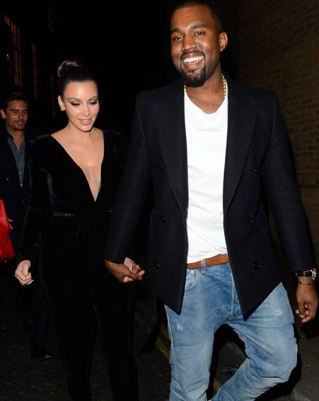 Kim Kardashian said her rapper boyfriend Kanye West is really excited at becoming a dad