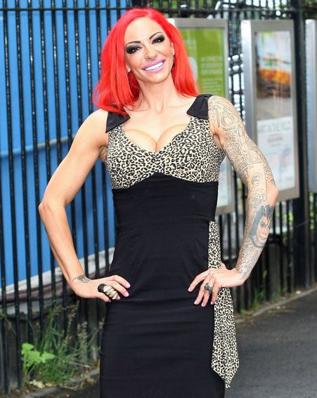 Jodie Marsh told Star magazine that she feels good naked after taking up bodybuilding