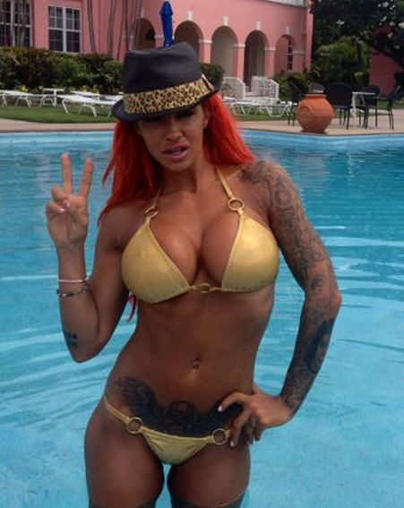 Jodie Marsh has been celibate for over a year but insists she's too busy for a man