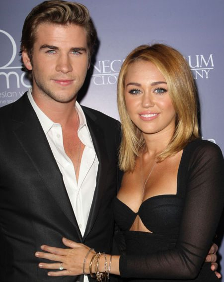 Miley Cyrus and Liam Hemsworth are rumoured to be designing wedding rings for each other