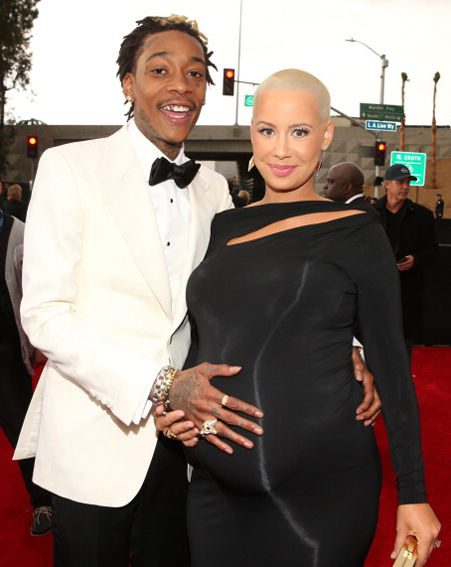 Amber Rose married Wiz Khalifa back in March this year