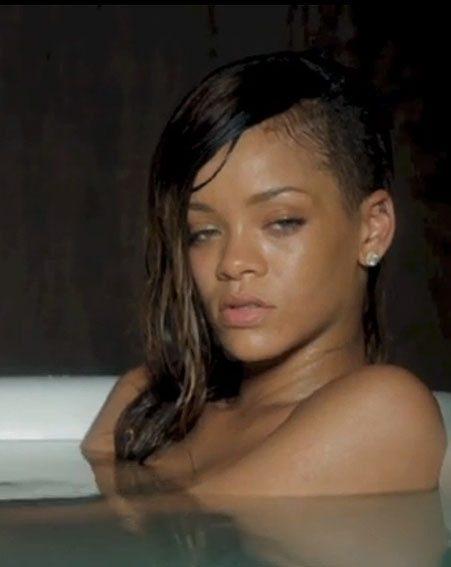 Rihanna leaked a sneak peek of her video on Twitter