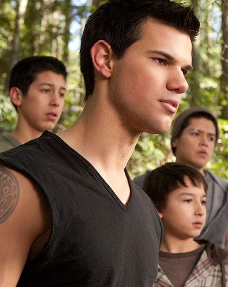 Taylor Lautner also won a Raspberry at for his role in Breaking Dawn