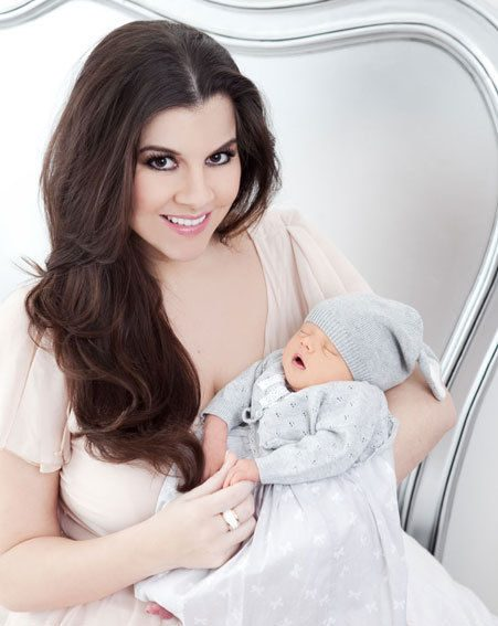 Imogen Thomas is loving being a mum
