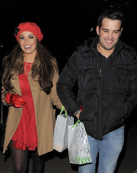 TOWIE's Jessica Wright and Ricky Rayment attended the Natural History Museum Ice Rink launch party