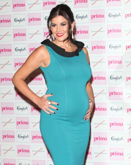 Imogen Thomas wore a tight dress to the Prima High Street Fashion Awards last month