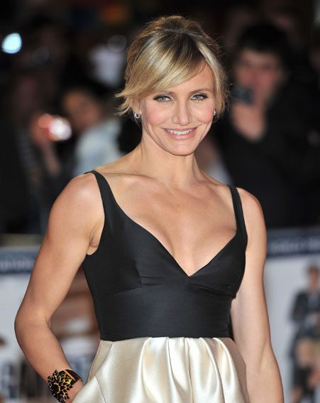 Cameron Diaz looked stunning at the Gambit premiere last night