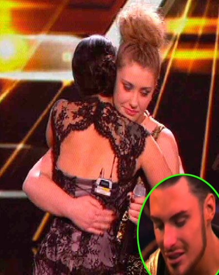 Rylan Clark was devastated after Ella Henderson was voted off The X Factor
