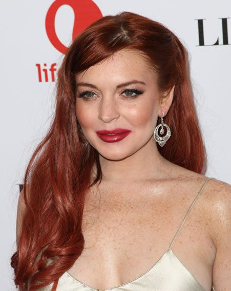 Lindsay Lohan clearly hasn't paid any attention to the negative Liz & Dick reviews