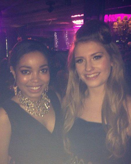 The X Factor's Ella Henderson met Amy Winehouse's Goddaughter, Dionne Bromfield