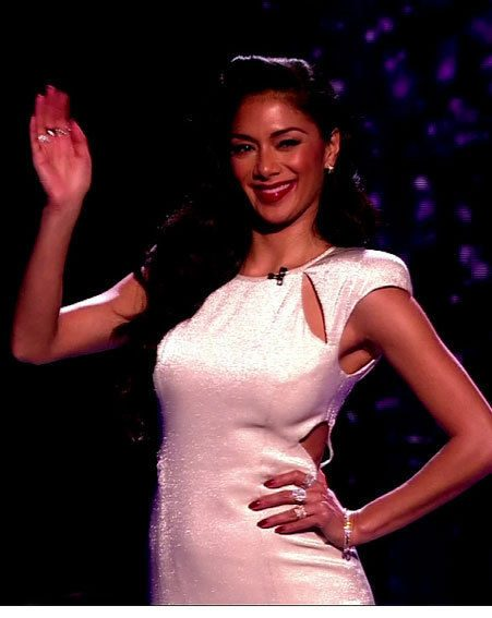 Nicole Scherzinger still managed to beat Tulisa in The X Factor fash-off