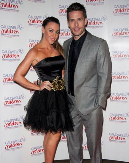 Michelle Heaton took to Twitter to thank her husband Hugh Hanley for his support