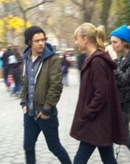 Harry Styles and Taylor Swift were spotted strolling together in New York's Central Park
