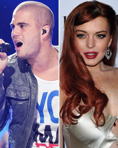 Max George and The Wanted partied with Lindsay Lohan for the third time