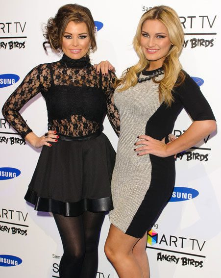 Jessica Wright and Sam Faiers looked stunning at Samsung's Angry Birds party last night