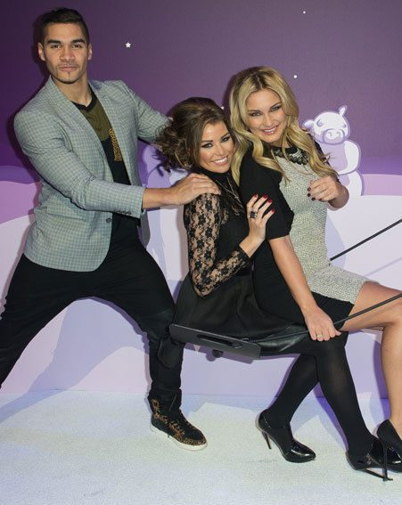 Louis Smith bumped into Sam Faiers and Jessica Wright at Samsung's Angry Birds All-Star final