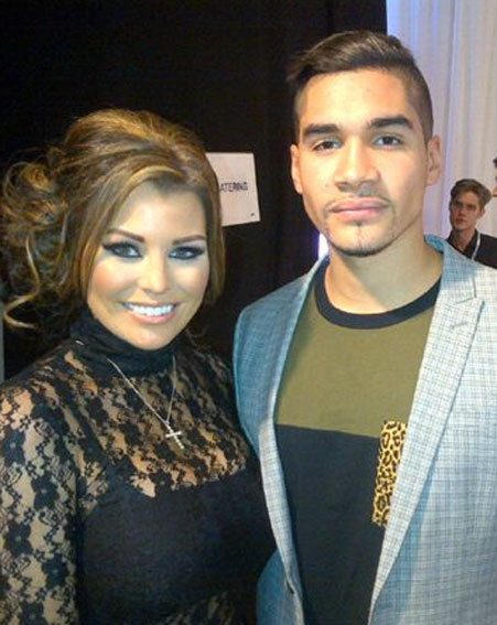 Louis Smith hung out with Jessica Wright ahead of the Strictly Come Dancing 2012 final