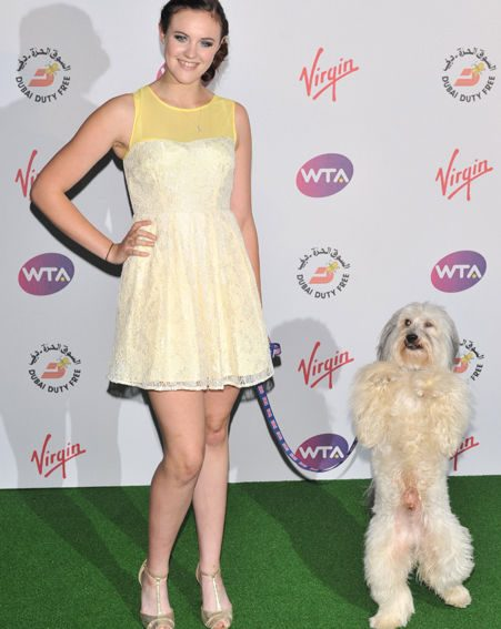 Ashleigh revealed Pudsey is reveling in his time in the limelight