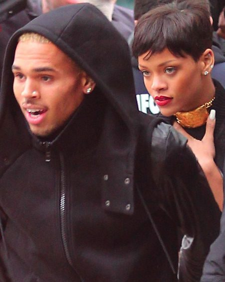 Chris Brown has reportedly had a tattoo of his ex removed as a 'gesture of love' for Rihanna