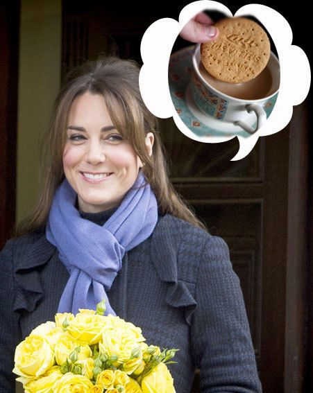 Pregnant Kate Middleton has been craving lavender biscuits to cure her morning sickness