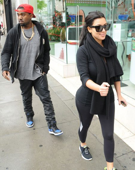 Kim Kardashian is pregnant with her first baby with boyfriend Kanye West