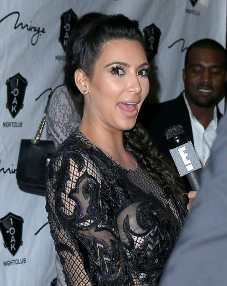 Kim Kardashian hit Nevada in a sheer lace dress