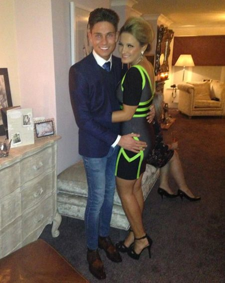 Sam Faiers turned 22 on New Year's Eve and celebrated with a party at her Essex home
