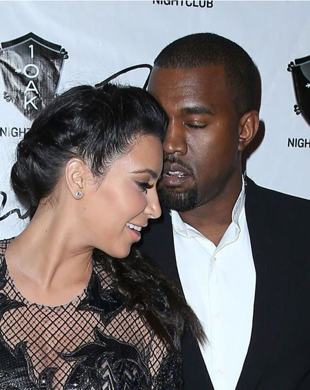 Kanye West and Kim Kardashian have been dating for eight months
