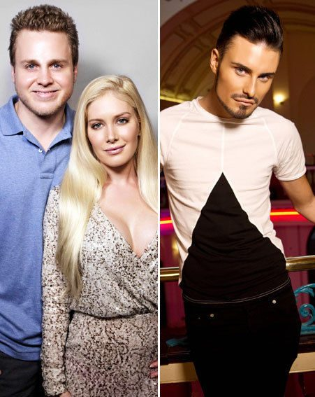 Heidi Montag and Spencer Pratt join Rylan Clark in this year's Celebrity Big Brother 2013