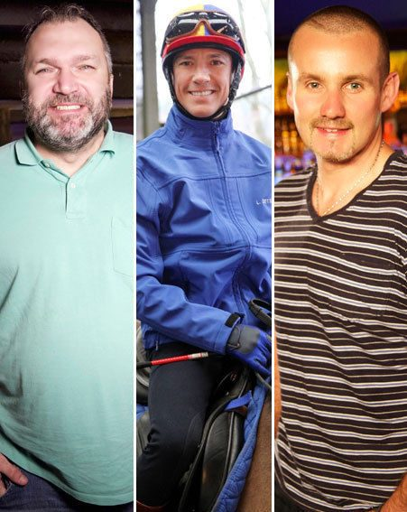 Footballer Neil Ruddock, jockey Frankie Dettori MBE and Neighbours star Ryan Maloney