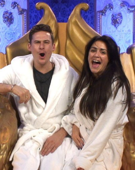 Charlotte's still not a big fan off Lee Ryan's CBB antics